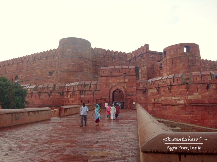 Conquered Agra and its Fort