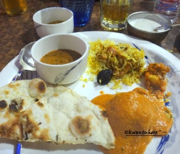 Indian foods on plate