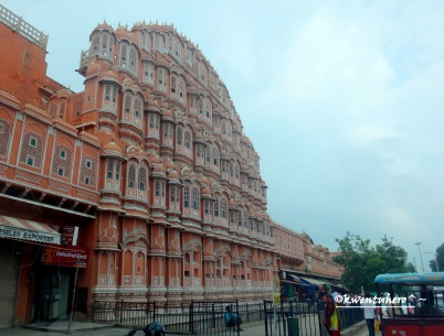 Final look at Hawa Mahal